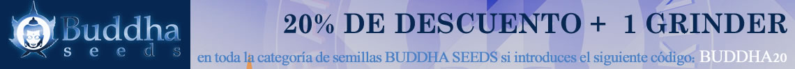 Descuento buddha seeds 20%
